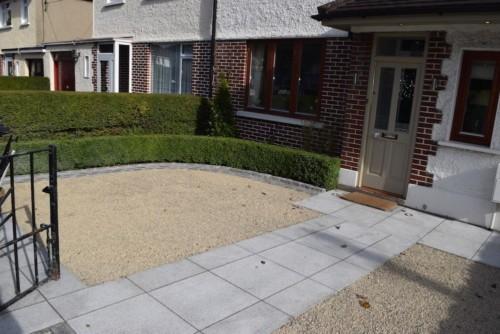 Garden Construction - Driveway Paving