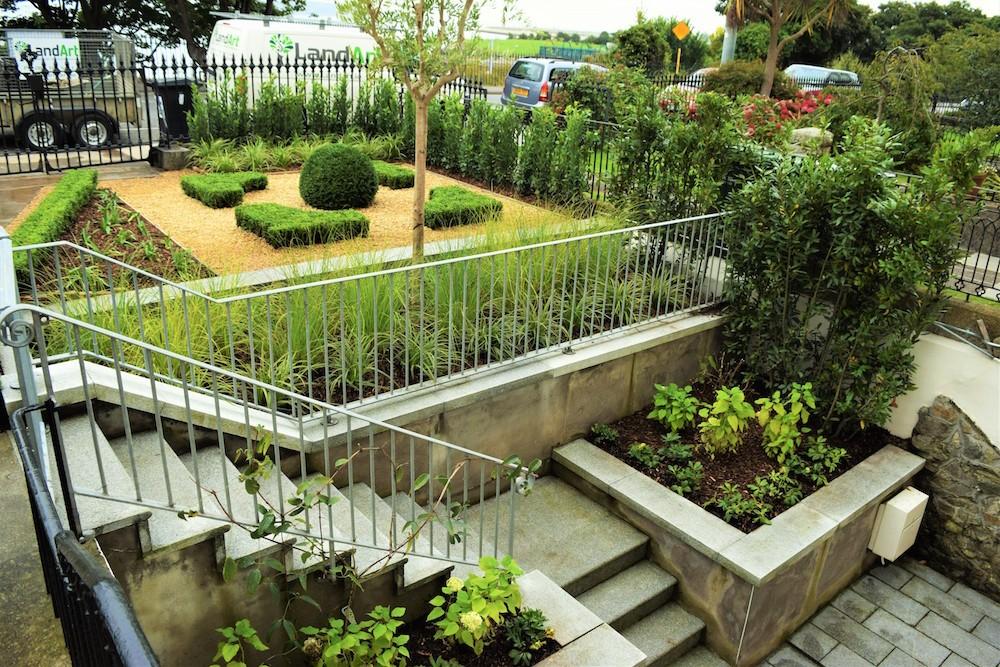 Victorian Parterre Garden Design Monkstown - LandArt