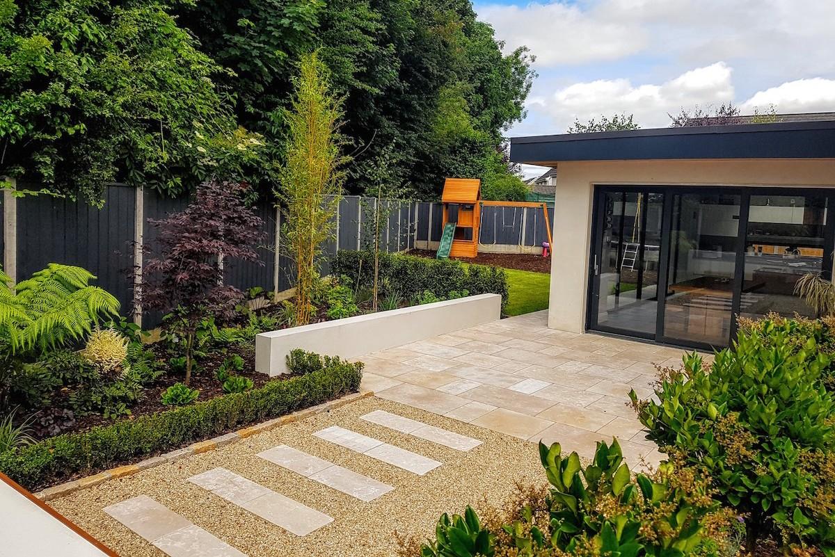 Large Family Garden Design Dublin