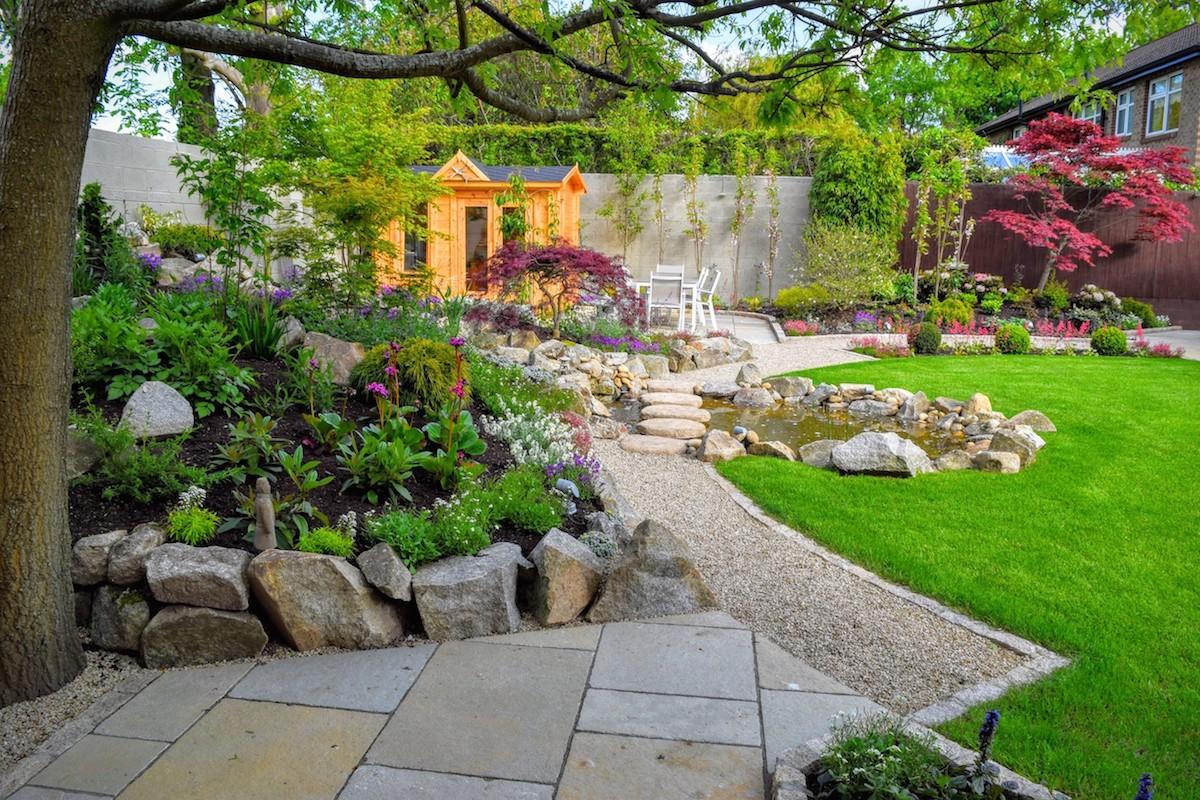 Oriental Inspired Garden Design Foxrock - LandArt