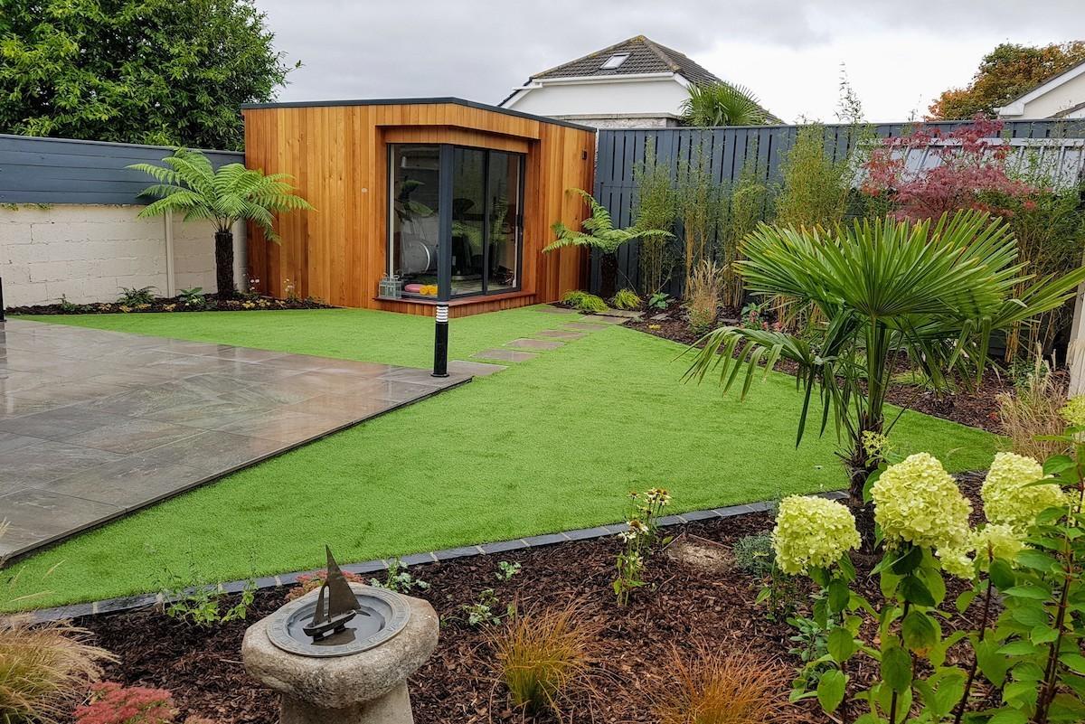 modern garden design templeogue south dublin - Modern Garden
